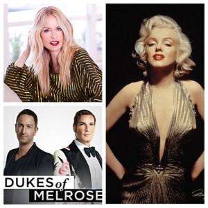 Rachel Zoe, Dukes of Melrose & Marilyn Monroe