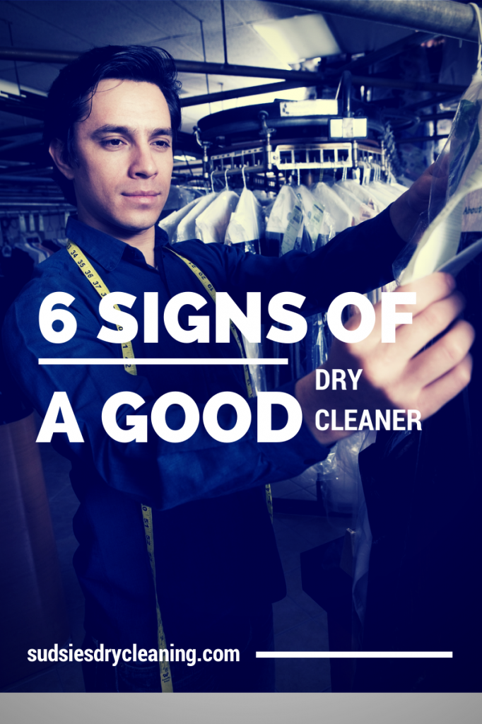 6 Signs of a Good Dry Cleaner