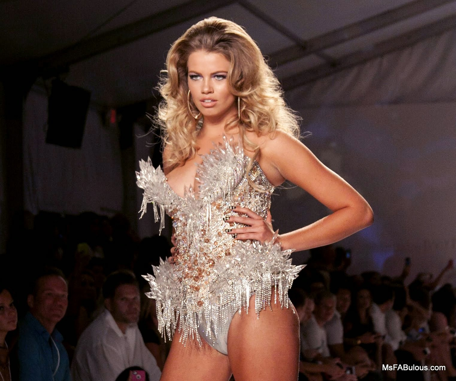 MIAMI FASHION WEEK: Beach Bunny 2015 Featuring The Blonds
