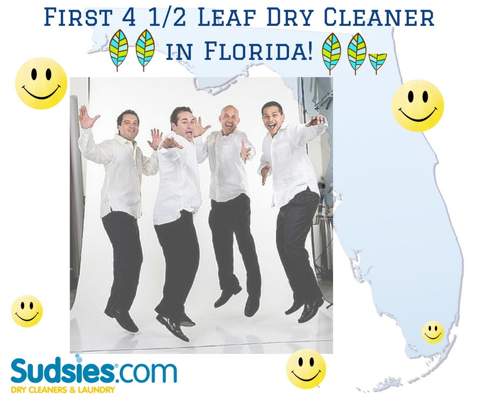 First 4.5 Leaf Dry Cleaner in Florida!